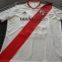 River Plate Vangioni Match Worn/issued Shirt   Photo