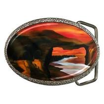 River Styx Gothic Fantasy Belt Buckle Photo