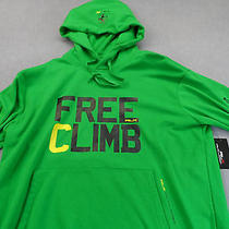 Rlx Logo Ralph Lauren Mens Green Free Climb Bike & Raft Sweatshirt Hoody Nwt 2xl Photo