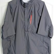 Rlx Polo Ralph Lauren Gray Golf Windbreaker Jacket Xl Photo