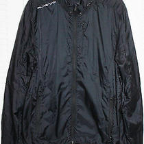 Rlx Ralph Lauren 100% Nylon Black Lightweight Jacket Sz L Photo