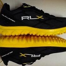Rlx Ralph Lauren Black Low-Top Trail Sneakers 8.5 Photo
