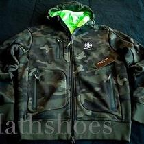 Rlx Ralph Lauren Camo Track Jacket 195nwt Army Explorer Hoody Usa Chief Polo M Photo