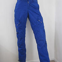 Rlx Ralph Lauren Dark Royal Blue Cargo Pant Size 4 Photo