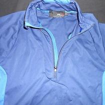 Rlx Ralph Lauren  Performance Jacket in  Navy Trimmed in Royal  Size Medium  Photo