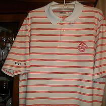 Rlx Ralph Lauren Pga National Golf Club & Resort Palm Beach Polo Shirt Xl C131 Photo