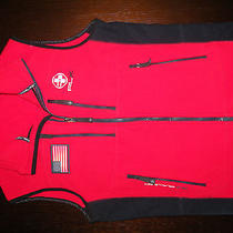 Rlx Ralph Lauren/ Red Polar Fleece Vest Photo