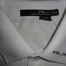 Rlx Ralph Lauren White Polo Womens Medium Photo