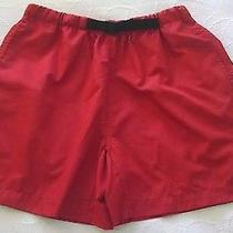 Rlx Ralph Lauren Womens Size S Red Belted Outdoor Shorts  Photo