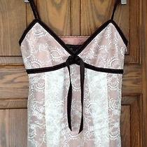 Robert Rodriguez Blush Lace Camisole Photo