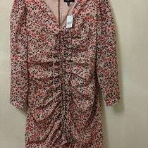 Robert Rodriguez Cayana Pleated Long Sleeve Dress Size 6 Nwt 595 Barneys Photo
