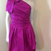 Robert Rodriguez Taffeta One Shoulder Dress- 2 Photo