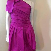 Robert Rodriguez Taffeta One Shoulder Dress- 2 Photo