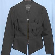 Robert Rodriguez Trendy Black Lined Jacket Blazer 6 Photo