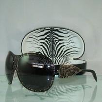 Roberto Cavalli Androgeo 317s 753 Grey & Black Wrap Style Sunglasses Size 64 Photo