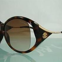 Roberto Cavalli Clivia 573s 52f Tortoise & Gold  Original Case Sunglasses S 62 Photo