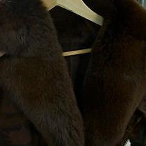Roberto Cavalli Cow Leather Coat Photo