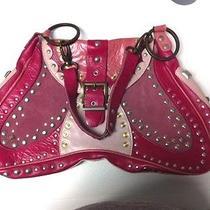 Roberto Cavalli Electric Guitar Shape Designer Leather Bag  Photo