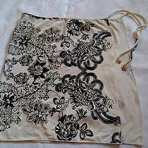 Roberto Cavalli Floral Print Silk Sarong Size40 Photo