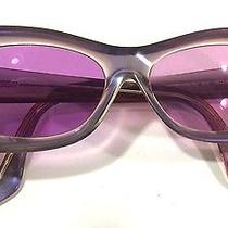 Roberto Cavalli Iridescent Purple Afrodite 3s 512 Framed Sunglasses Italy Photo