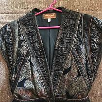 Roberto Cavalli Leather Woman's Vest (Painted and Stitched) Photo