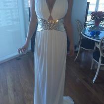 Roberto Cavalli Long White Dress Photo