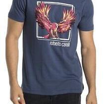Roberto Cavalli Phoenix Graphic Crewneck T Shirt for Men Photo