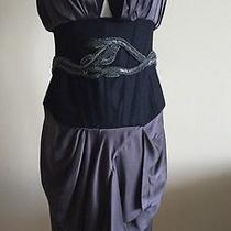 Roberto Cavalli Satin Corset Dress Size 44 Photo