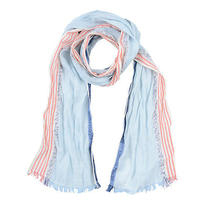 Roberto Cavalli Unisex Linen Striped Scarf Photo