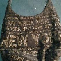 Robin Ruth New York  New York Large Hobo Vegan Tote.... Photo