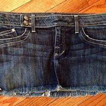 Rock and Republic Denim Jean Skirt Size 29 Photo