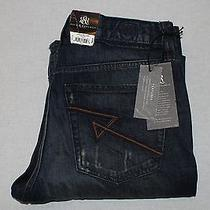 Rock and Republic Grunge Mechanic Neil Straight Leg 34 X 34 Jeans Nwt 88 Photo