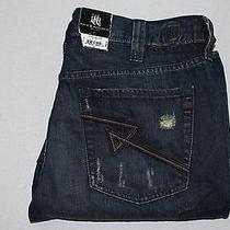 Rock and Republic Grunge Mechanic Neil Straight Leg 36 X 30 Jeans Nwt 88 Photo