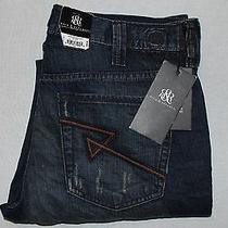 Rock and Republic Grunge Mechanic Neil Straight Leg 36 X 34 Jeans Nwt 88 Photo