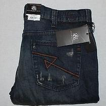 Rock and Republic Grunge Mechanic Neil Straight Leg 38 X 32 Jeans Nwt 88 Photo