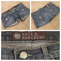 Rock and Republic Jean Shorts Photo