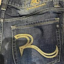 Rock and Republic Men's Designer Jeans Pre-Owned Size 33 X 32 Photo