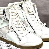 Rock & Reppublic Spike With Zippers Sport Wedge Sz 9 and 91/2 Brand New  Photo