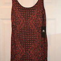 Rock & Republic Baroque Stretch Mini Dress Size Xl New Photo