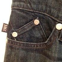 Rock & Republic 'Berlin' Straight Leg  Jeans  Gently Worn  Size 28 Photo
