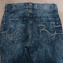 Rock & Republic Bolt 100% Cotton Distressed Jeans 29/30 Photo