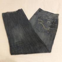 Rock & Republic Bolt 38 X 30 Straight Leg Men's Jeans Photo