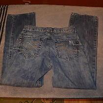 Rock & Republic Bolt Denim Jeans Mens Bootcut Denim Jeans Size 30x32 Photo