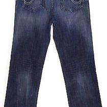 Rock & Republic Bolt Jeans Straight Leg Pants Denim Mens 34 X 35 Sku 061 Photo