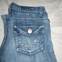 Rock & Republic Boot Cut Jean Size 26 . Comes With Free Earrings Photo