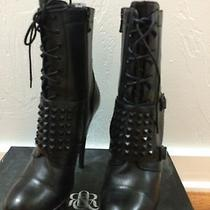 Rock & Republic Booties With Studded Belt Strap Photo