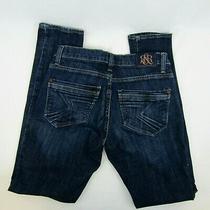 Rock & Republic Emo Womens Dark Blue Jeans Size 0  Photo