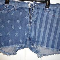Rock & Republic Freedom Rock  Short   Colorblue  Size10  Msrp 58 Photo