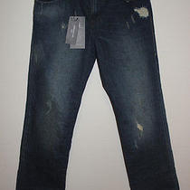 Rock & Republic Grunge Mechanic Straight Leg Neil 29x30 Distressed Jeans Photo