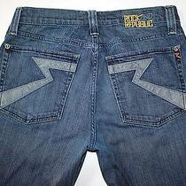 Rock & Republic Henlee Button Fly Jeans Lightening Bolts Actual W 34